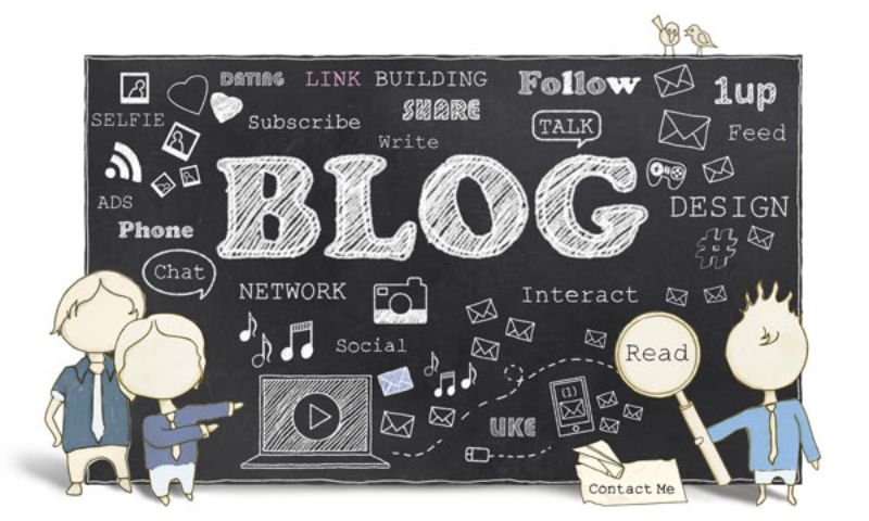 blogging and facebook